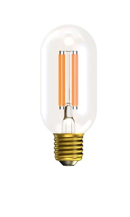 BELL 60150 4W LED Filament Tubular Short Clear Dimmable ES 2700K